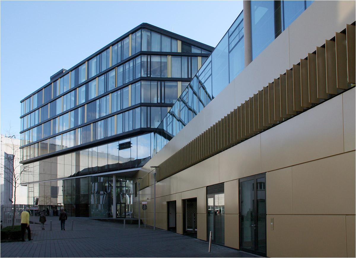 Architektur Aachen aachenmünchener direktionsgebäude in aachen blick entlang der bornstraße o architektur