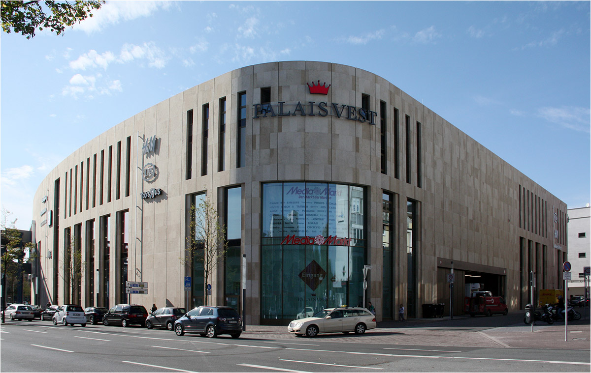 shopping mall 39 palais vest 39 in recklinghausen der. Black Bedroom Furniture Sets. Home Design Ideas