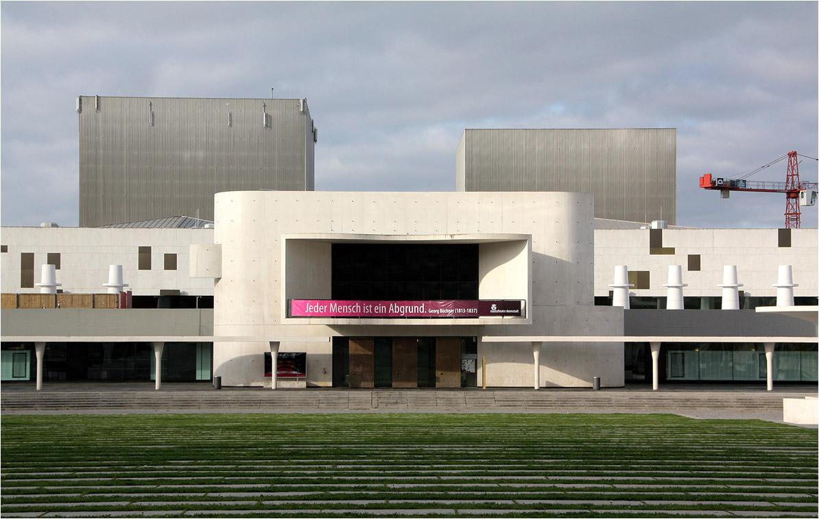 Architekten Darmstadt staatstheater darmstadt sanierung und neues eingangsgebäude das