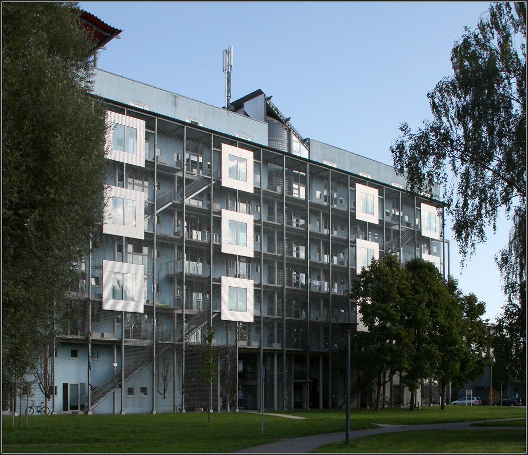 Studentenwohnhaus 39 europahaus 39 in konstanz blick auf die laubeng nge auf der westseite m - Architekten konstanz ...